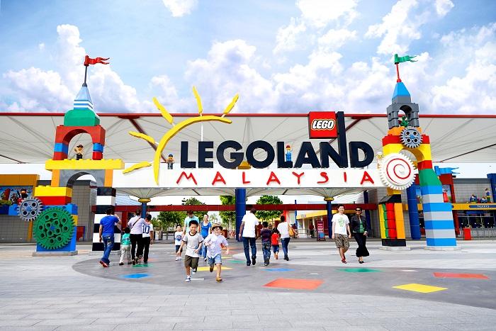 ジョホールバル人気のスポット「レゴランド」。新しい街らしく、どんどん面白いアトラクション施設ができています。