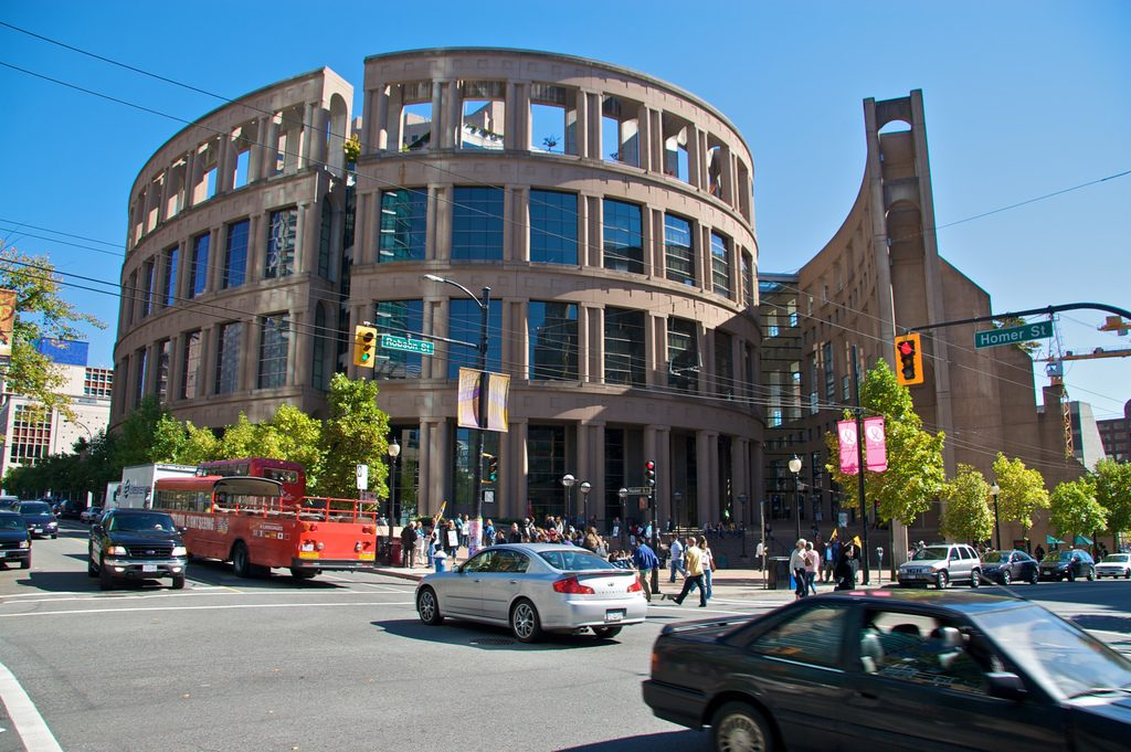 Vancouver_Library_on_robson_street