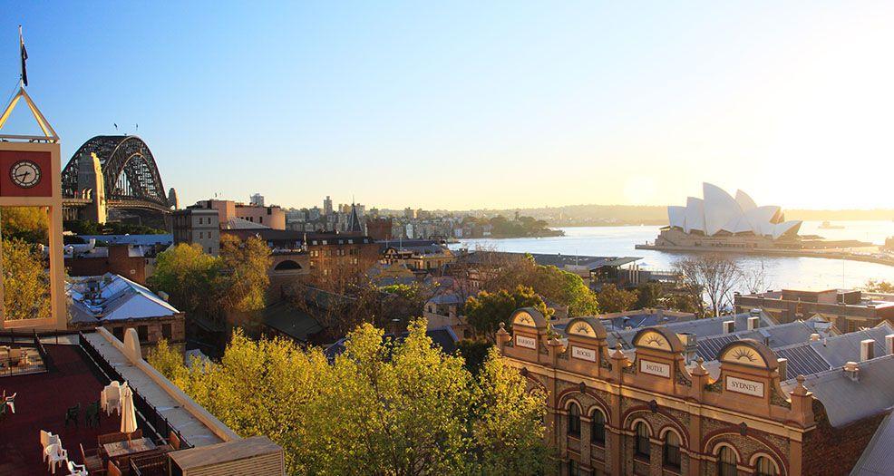 シドニーのおすすめエリア1:ロックスエリア