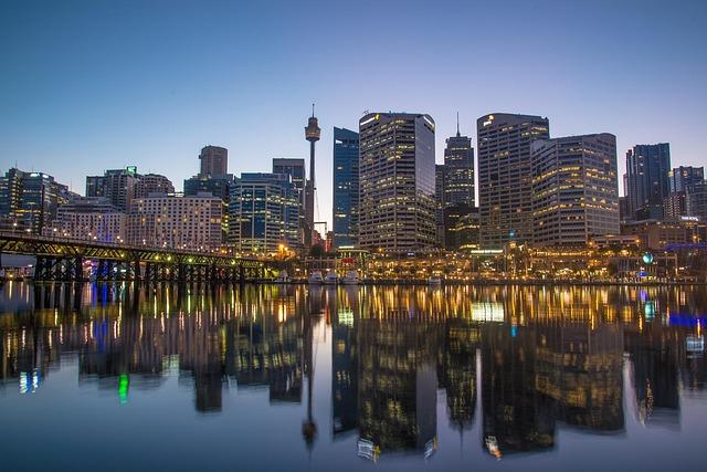 シドニーおすすめエリア2:タウンホール周辺