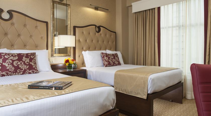 「King George Hotel」 334 Mason Street, ユニオン・スクエア, サンフランシスコ