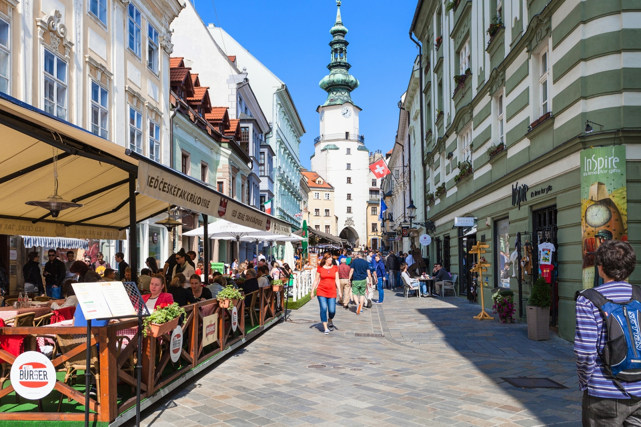 bigstock-Restaurants-On-Michalska-Stree-105860540