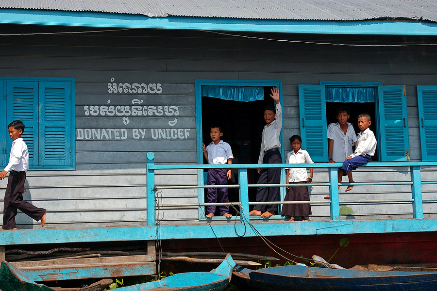 Unicef Donated School