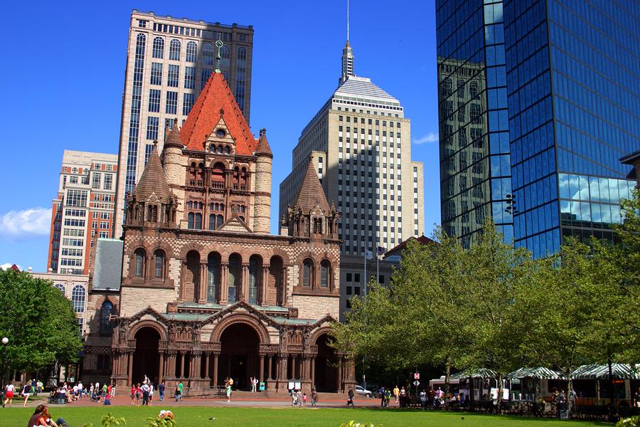 Copley Square, Boston..