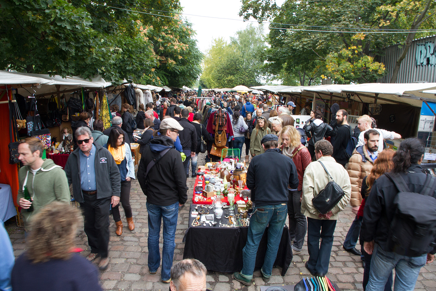 Flea Market, Berlin, Germany