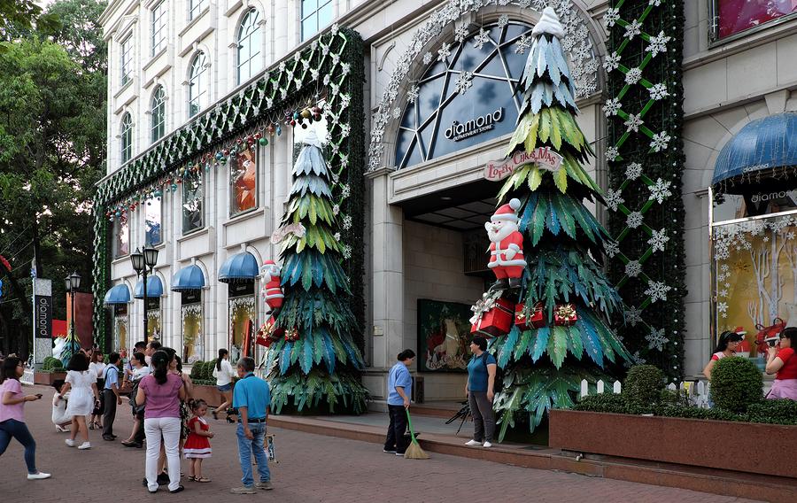 Ho Chi Minh City, Walking Street, Christmas Season