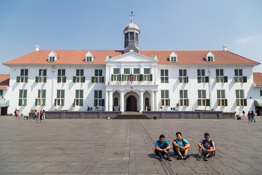 Jakarta, Indonesia - Circa October 2015: Jakarta History Museum,
