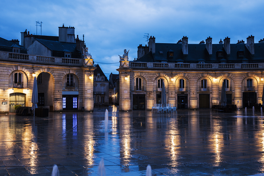 Liberation Square in Dijon. Dijon Burgundy France