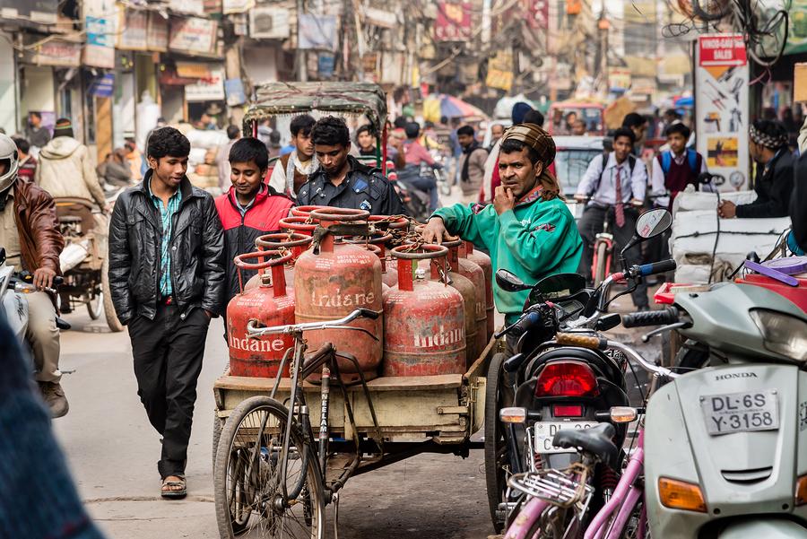 Streets Of Old Delhi
