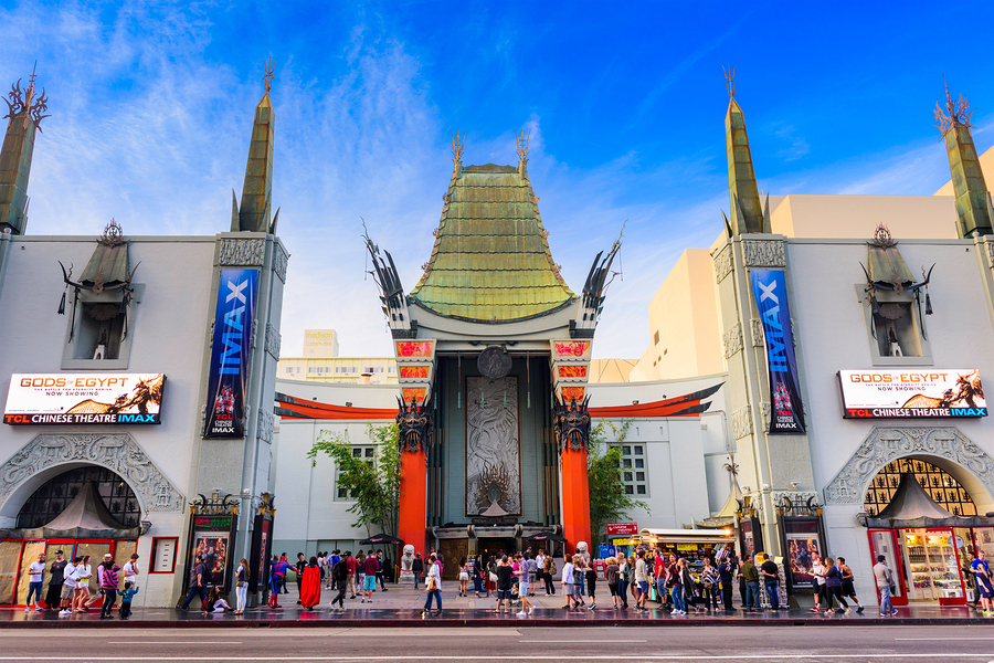 LOS ANGELES, CALIFORNIA - MARCH 1, 2016: Grauman's Chinese Theat